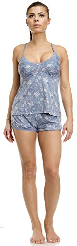 Jessica Simpson (6497JS) Womens Feeling Sexy Cami and Short Set Size: Large in Floral Chintz