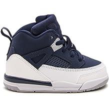 Pre School Nike Air Jordan Spizike BP Black Cement Black/White/Red