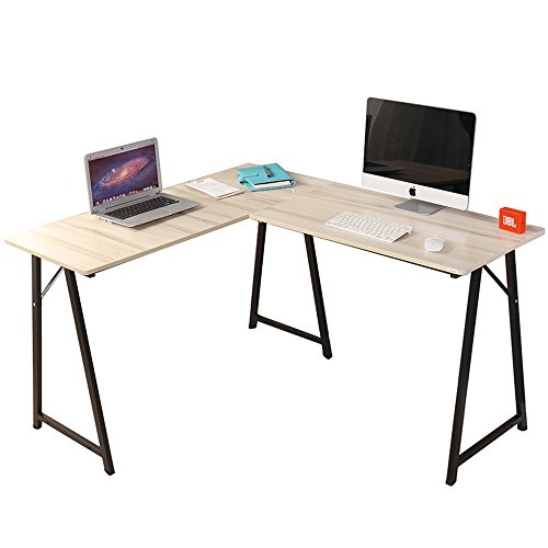 DlandHome L-Shaped Computer Desk 54