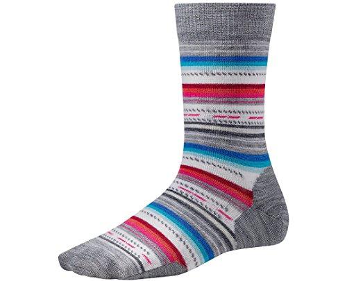 Smartwool Women's Margarita Socks (Light Gray Heather) Large