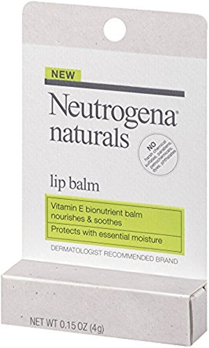 Neutrogena Naturals Lip Balm, 0.15 Ounce (Pack of 2)