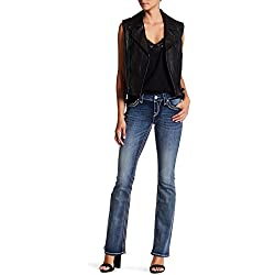Rock Revival Jaylyn Embellished Sequin Bootcut Jeans