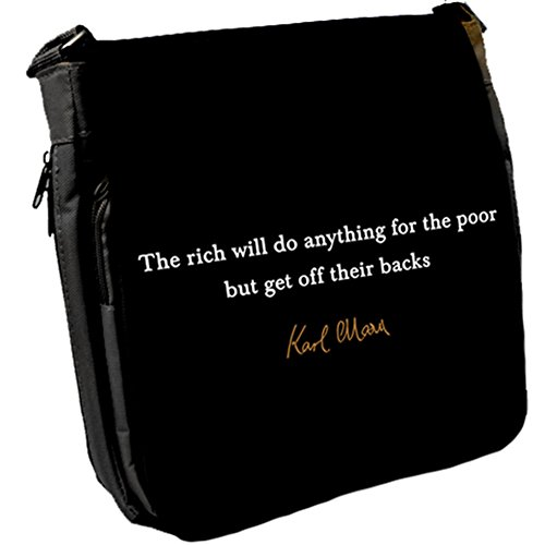 The rich will - Karl Marx Unisex Umhängetasche