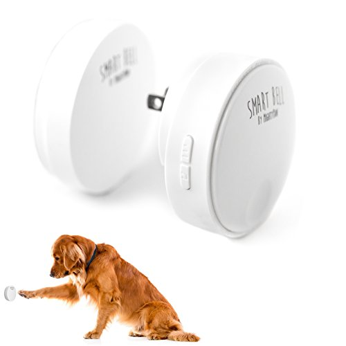 Mighty Paw Smart Bell 2.0, Dog Potty Communication Doorbell, Super-light Press Button Doorbell (1...