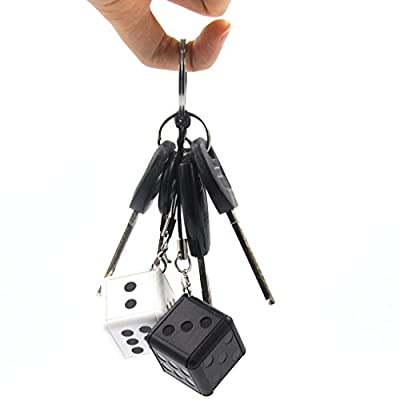 Egal VD007 230MAh Lithium Battery 1080P HD Dice Appearance Mini Hidden Cameras Microphone Hide Motion Detection Keychain Camcorder from M-Egal