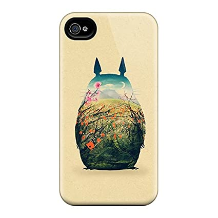 Amazon.com: Durable Protector Case Cover With Totoro Artwork ...