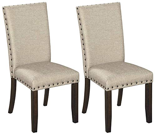 Signature Design by Ashley Dining Chair, Rokane (Natural Room Dining Chairs)