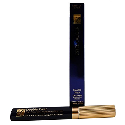 Estee Lauder Double Wear Zero-Smudge Lengthening Mascara 01 Black by Estee Lauder