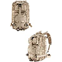 Multi Color Pack 3P Assault Tactical Military Camping Backpack Bag Desert Digital Outdoor Army Molle 3 Day