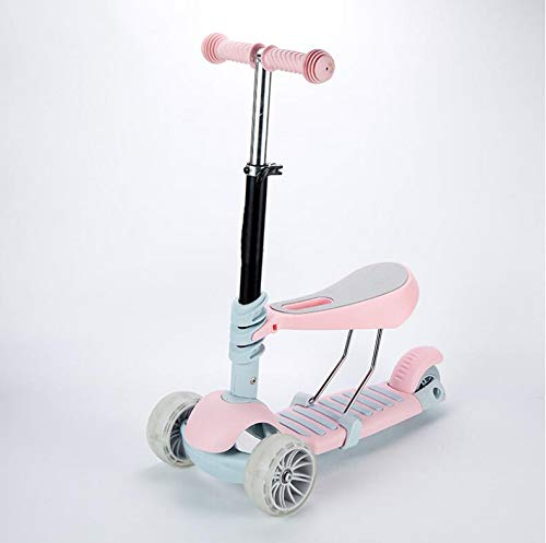 XTXZL Carro de Equilibrio Infantil Scooter Andador Puede Empujar ...