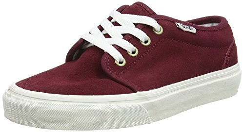Adulte Vans Blanc Mixte White Windsor Wine Baskets Vintage Vulcanized Blanc Basses 106 wrqrXZxS