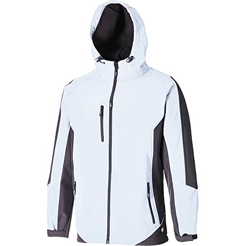 Dickies Softshell-Jacke, 1 Stück, M, weiß/grau, JW7010 WGY M