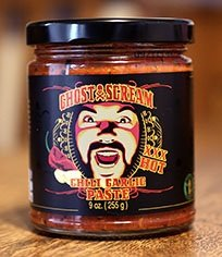 Roasted Garlic Paste - Ghost Scream Chili Garlic Paste made with Fresh Ghost Peppers 9oz