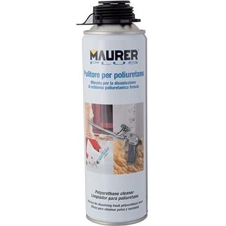 Limpiador de espuma de poliuretano Maurer 500 ml: Amazon.es: Bricolaje y herramientas