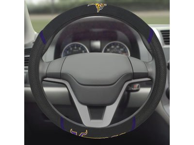 FANMATS 21559 Wheel Cover - Minnesota Vikings Steering Wheel Cover