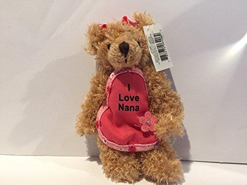 Mini Russ I Love Nana Teddy Bear (Nana Teddy Bear)