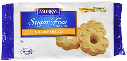 Murray Sugar Free Cookies Shortbread, 6-Ounce Package (Pack of 12)