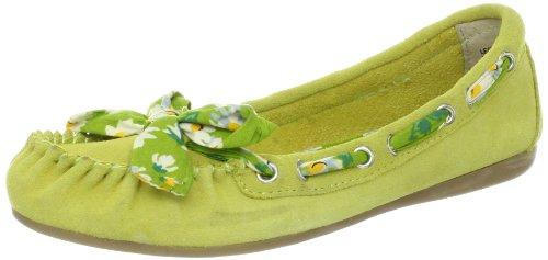 Bc Footwear Flats (BC Footwear Women's Make No Mistake Ballet Flat,Lime,8.5 M US)