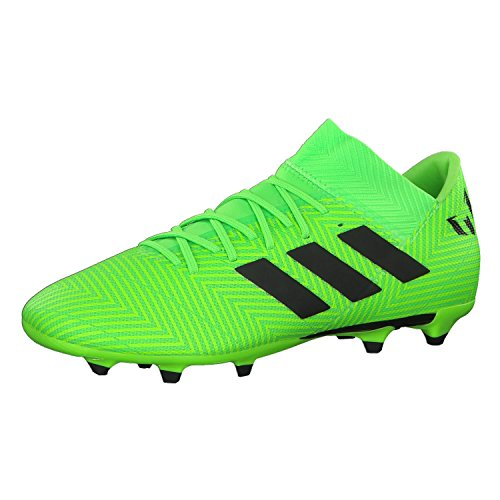 noir fluo fluo Nemeziz Men's 18 vert vert Footbal Shoes 3 Messi adidas zRqC8wC