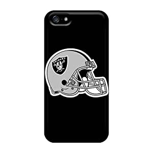 Top Quality Case Cover For Iphone 5/5s Case With Nice Oakland Raiders 4 Appearance