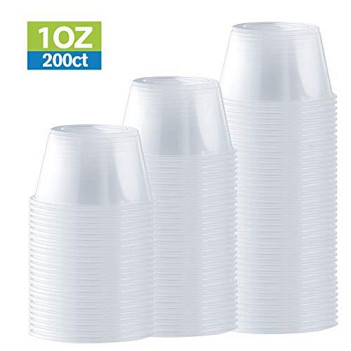 Disposable Portion Cups, 200 Count (1 oz)