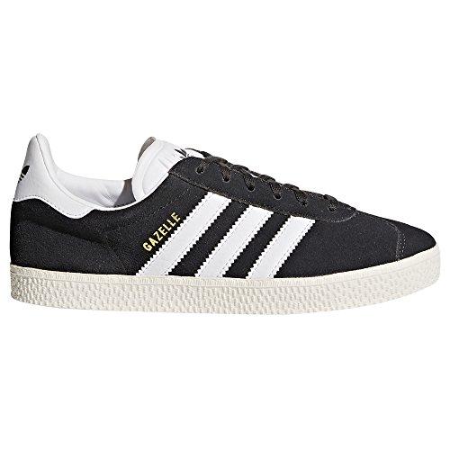 Adidas Gazelle J Rosa und Blau Damenschuhe. Sneaker Dark Grau Heather/Footwear Weiß