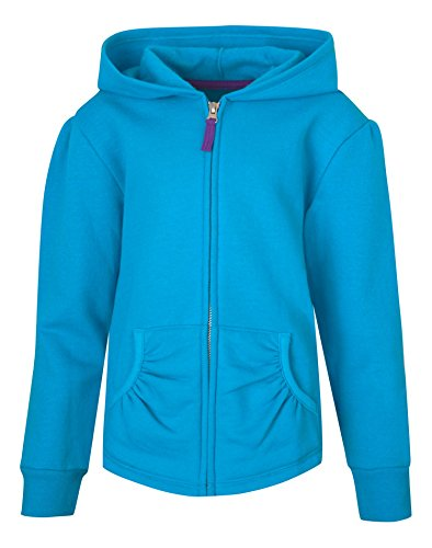 Hanes Girls' Full-Zip Hooded ()