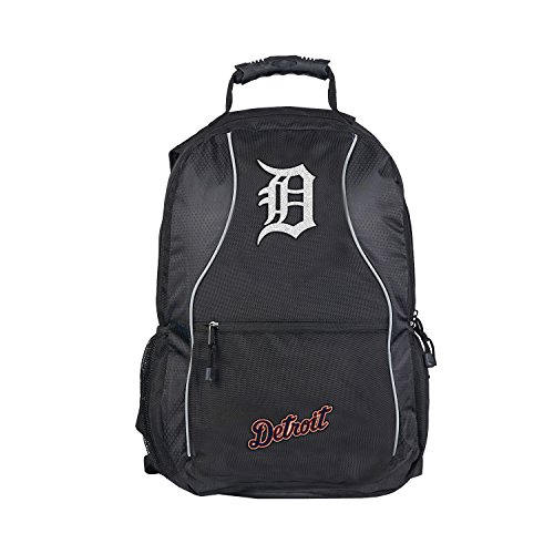 (Officially Licensed MLB Detroit Tigers Phenom Backpack, 19-Inch, Black)