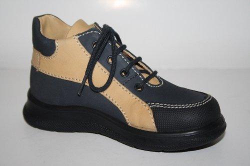 Jela , Chaussures de ville à lacets pour garçon Bleu ozean/sand 20