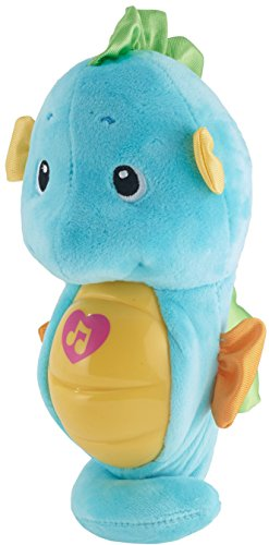 413NLHvKcbL - Fisher-Price Soothe & Glow Seahorse, Blue