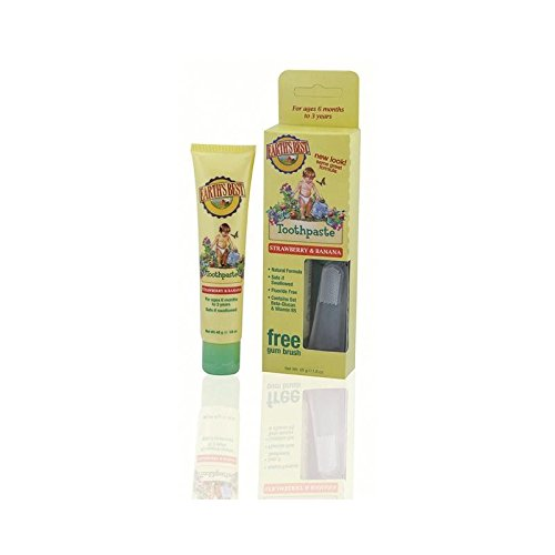 Jason Earth's Best Toddler ToothPaste 50g - Pack of 6