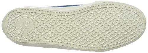 Gola Breaker, Zapatillas para Hombre Azul (Marine Blue Me)