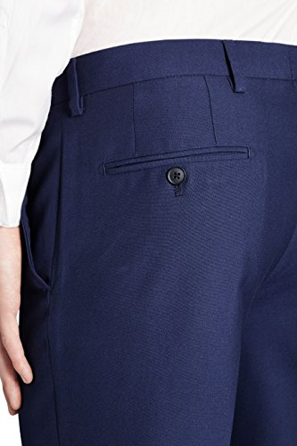 next Homme Costume : pantalon Bleu 34 / Long - Regular Fit