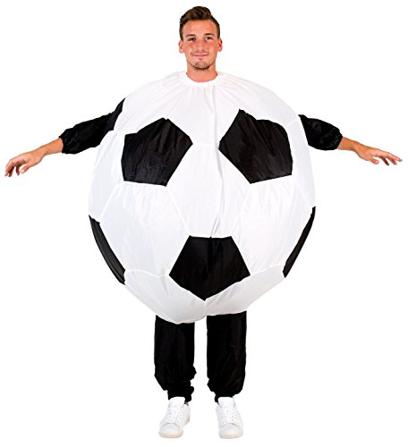 Inflatable Soccer Ball Chub Suit Costume (Adult) -