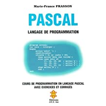 PASCAL LANGAGE PROGRAMMATION