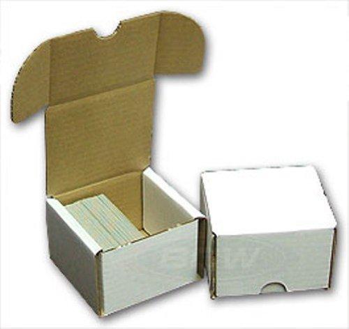 BCW Aufbewahrungsbox 200 Count (Menge 50) – Wellpappe Aufbewahrungsbox von BCW