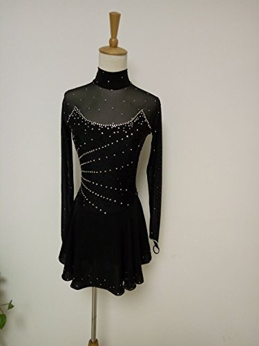 [Fashion Custom Figure Skating Dresses Girls Ice Skating Competition Dresses With Crystals A2171] (Ice Skating Dress Costumes)