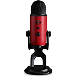 Blue Yeti USB Microphone - Satin Red