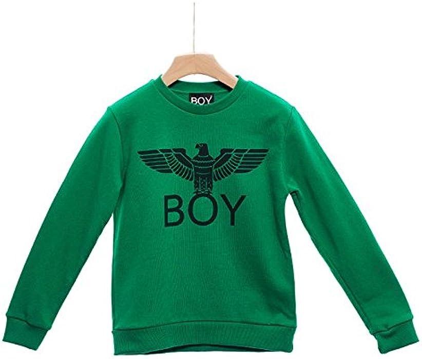 Boy London Bimbo/a - Sudadera - para niño Verde Verde