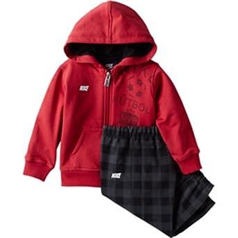 Nike Ya76 BF Football Warm UP Chándal, Unisex niños, Rojo/Blanco ...