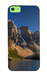 Awesome Design Moraine Lake Hard Case Cover For Iphone 5c(gift For Lovers)