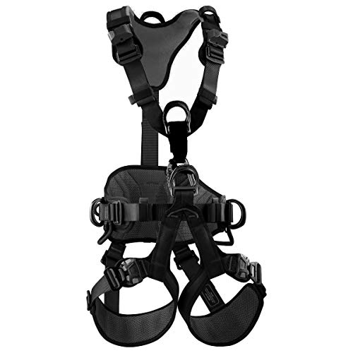 (Petzl Harness AVAO BOD Fast for Fall Arrest Black CSA NFPA ANSI Size 2)