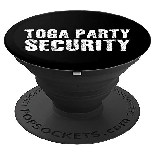 TOGA PARTY SECURITY Art Funny Halloween College Gift