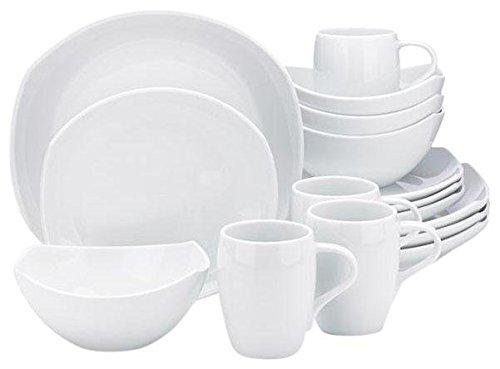 Dansk Classic Fjord Dinnerware Set, 16-pc, White