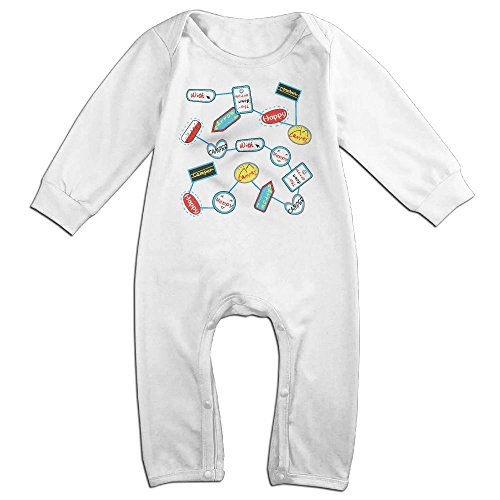 JOYJUN Happy Camper With Arrow. Fashion Newborn Baby 1 Pack Long Sleeve Onesies (Arrow Season 3 Episode 5)