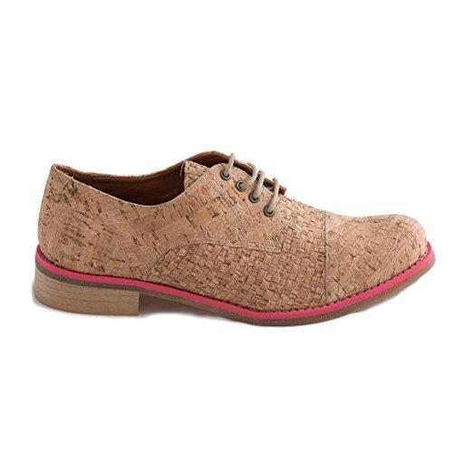 nae Diana Cork Pink - Zapatos mujer de corcho 100% veganos y ecológicos