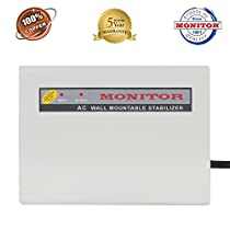 Monitor 4KVA Wall Mountable Voltage Stabilizer For 15 Ton A