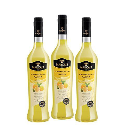 Cream Limoncello of Capri Sorrento (Box 3 bottles) by Marcati