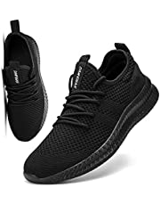 FUJEAK Men Walking Shoes Men Casual Breathable Running Shoes Sport Athletic Sneakers Gym Tennis Slip On Comfortable Lightweight Shoes for Jogging