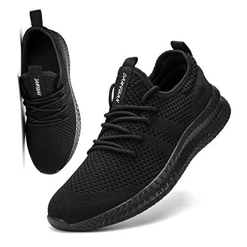 FUJEAK Hommes Chaussures De Course Hommes Casual Chaussures De Marche Respirantes Sport Baskets Athlétiques Gym Tennis… 1